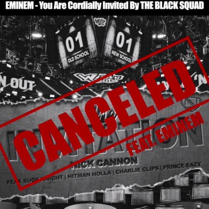 Nick Cannon The Invitation Canceled image
