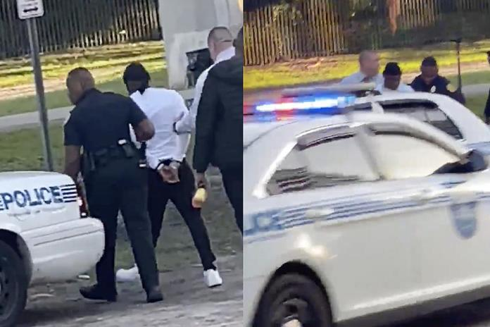 DaBaby Detained by police in Miami image