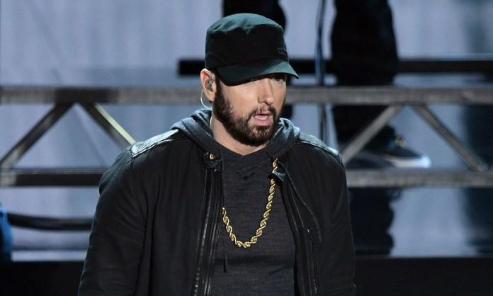 Eminem 2020 Oscars live image
