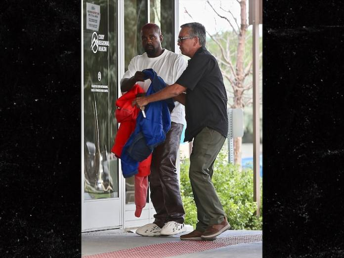 Kanye West Apologizes To Kim Kardashian, Gets Hospitalized