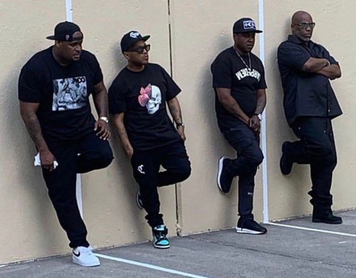 The LOX and DMX shooting music video