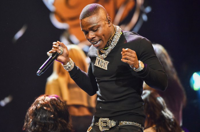 Dababy image live on stage