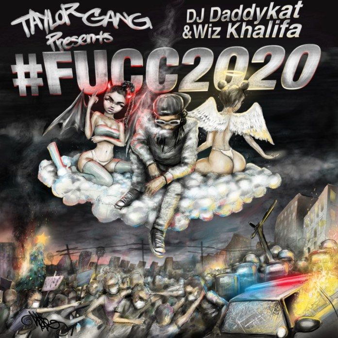 Wiz Khalifa FUCC2020 Mixtape cover image