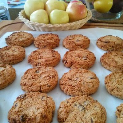 Almond Raisin Cookies