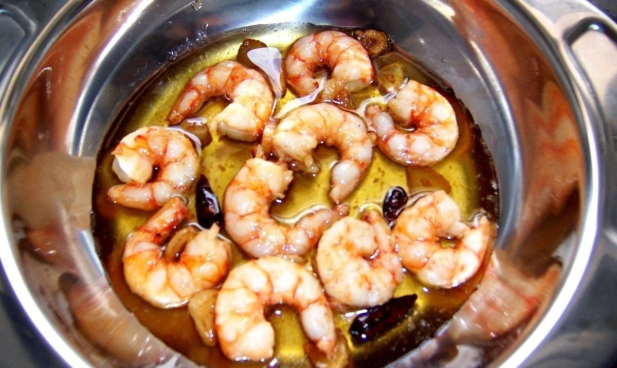 Grilled Shrimp with Garlic