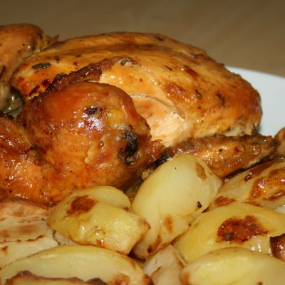Marinated Roast Chicken