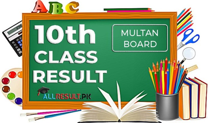 BISE Multan Board 10th Class Examination Result 2020
