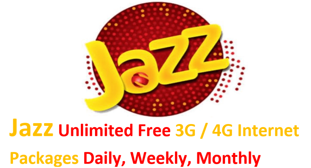 Jazz Internet Packages Daily Weekly Monthly