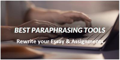 Free Paraphrasing Tool