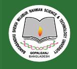 Bangabandhu Sheikh Mujibur Rahman Science & Technology University Admission Test Notice 2014-15