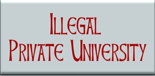 Illegal Private University List in Bangladesh published by UGC