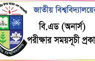 National University B.ED Honours Exam Routine 2017