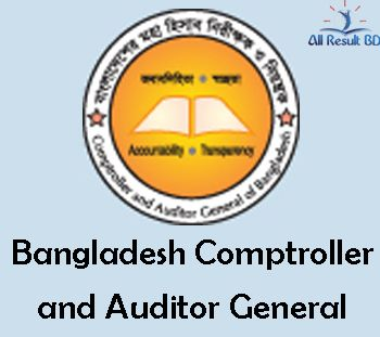 Bangladesh Comptroller and Auditor General Recruitment Result 2015