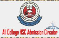 All College HSC Admission Circular Form 2017 Download