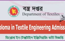 Diploma in Textile Engineering Admission Result Notice 2016