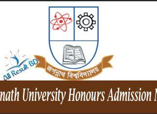 Jagannath University Honours Admission Notice