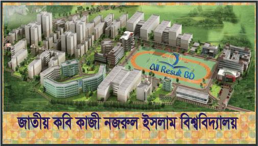 Jatiya Kabi Kazi Nazrul Islam University Admission Circular 2016- 17