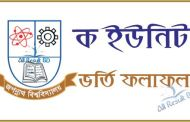 Jagannath University A Unit Seat Plan & Admission Result 2017
