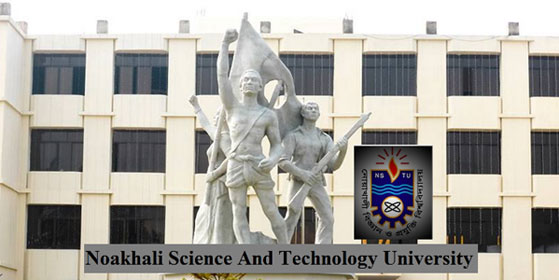 Noakhali Science and Technology University Admission Notice 2017-18