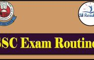 SSC Routine 2018 Exam Bangladesh Education Board