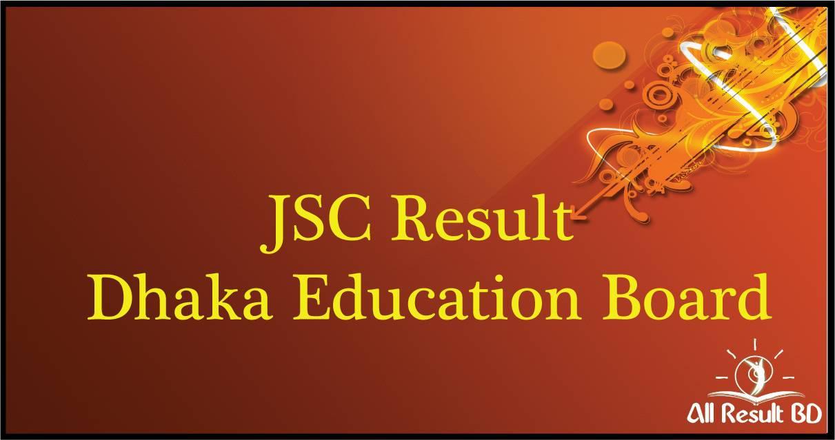 JSC Result 2017 Dhaka Education Board results.gov.bd