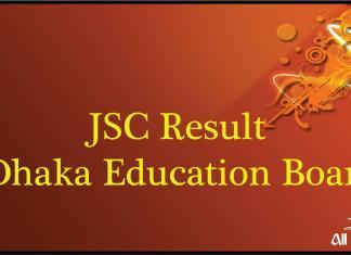 JSC Result 2017 Dhaka Education Board