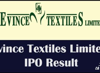 Evince Textiles Limited IPO Result