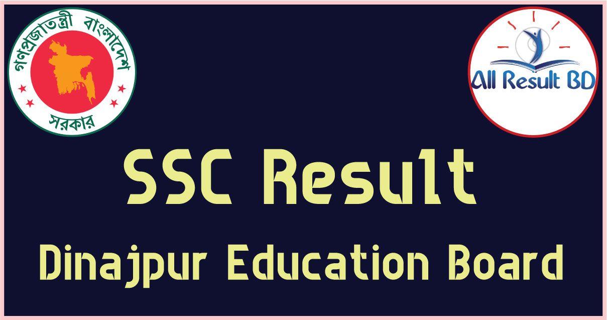 SSC Result Dinajpur Board 2017 Result dinajpur.gov.bd