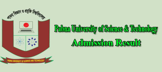 PUST Admission Result 2019