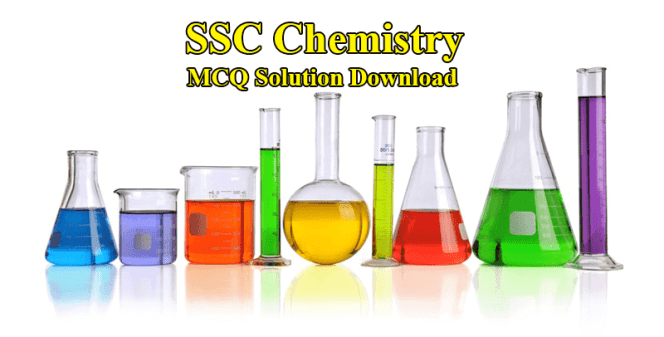 SSC Chemistry MCQ Answer