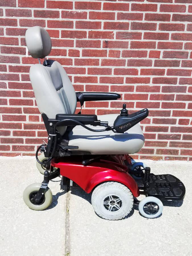 Pride Mobility Jet 3 4 Wheel Electric Wheelchair  Allrite