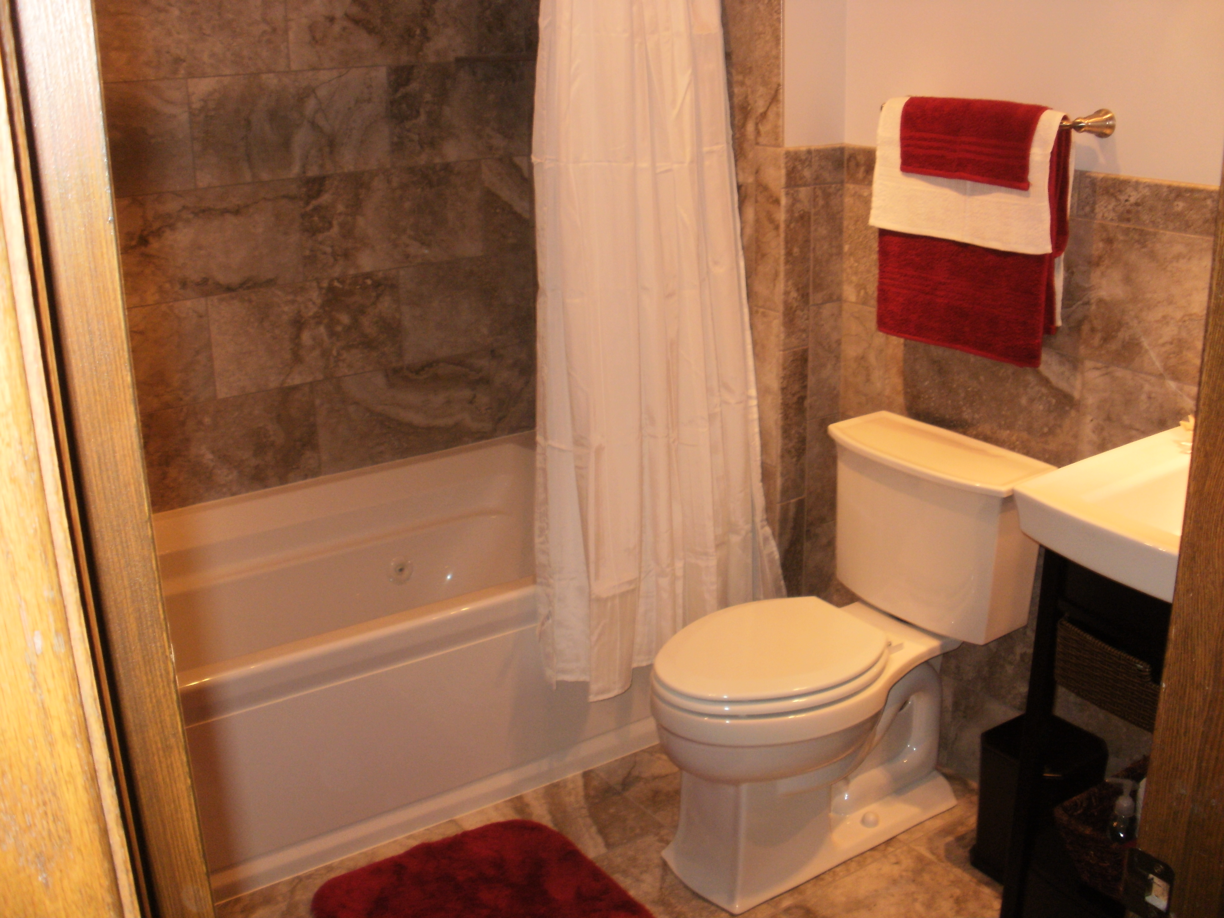 Inver Grove Heights Bathroom Remodel with Whirlpool Tub