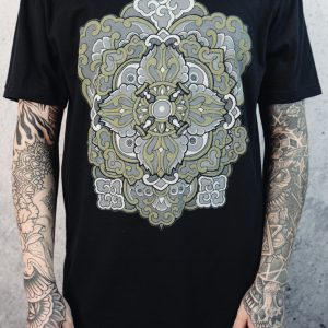 All Sacred | Men's Ornamental T-Shirt (Black)