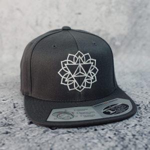 All Sacred | Merkabah Mandala Hat Gray 1