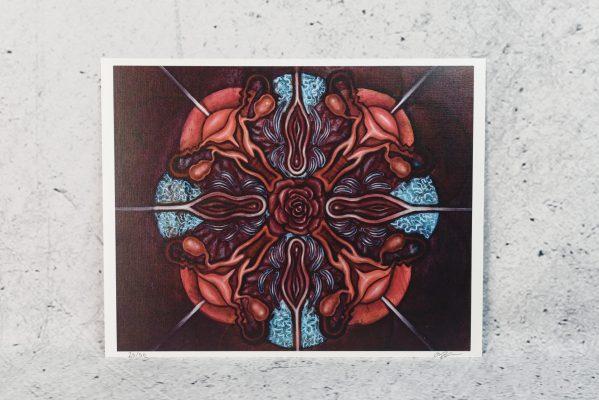 All Sacred | Aries Rhysing Print 4