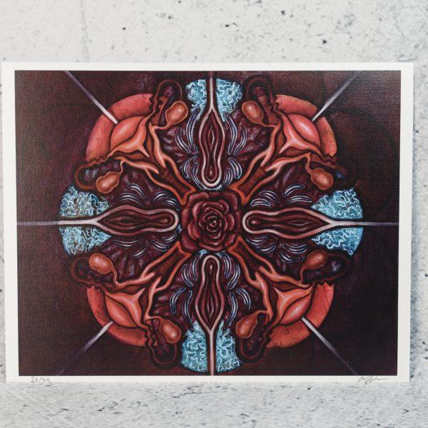 All Sacred   Aries Rhysing Print 4