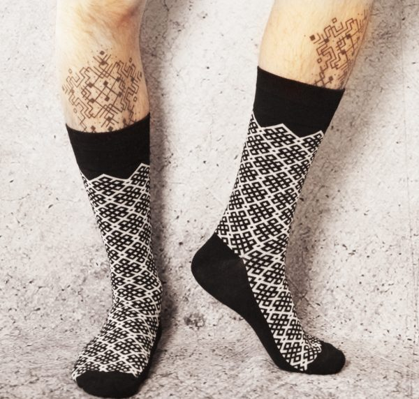 All Sacred | Eternity Knot Socks 1