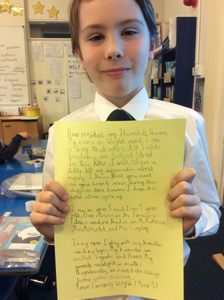 Residential Letters Community Champions