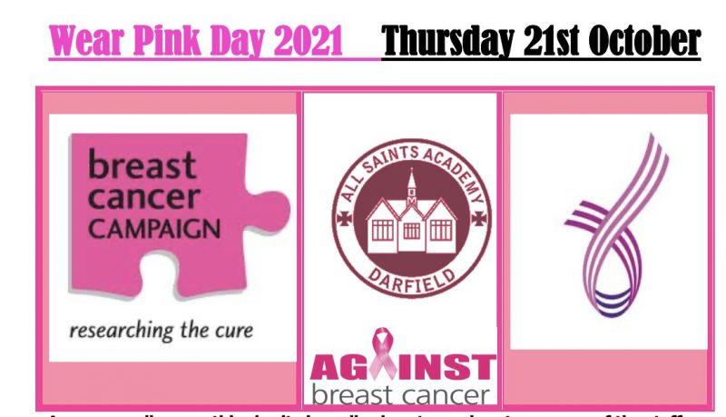 Wear Pink Day 2021…