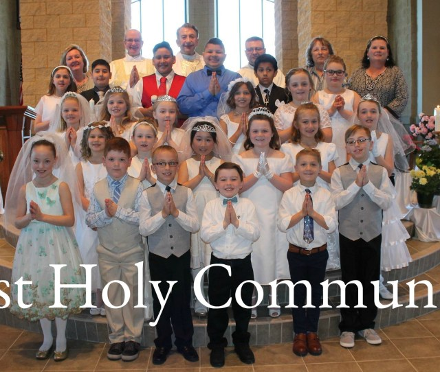 Sacrament Of First Communion
