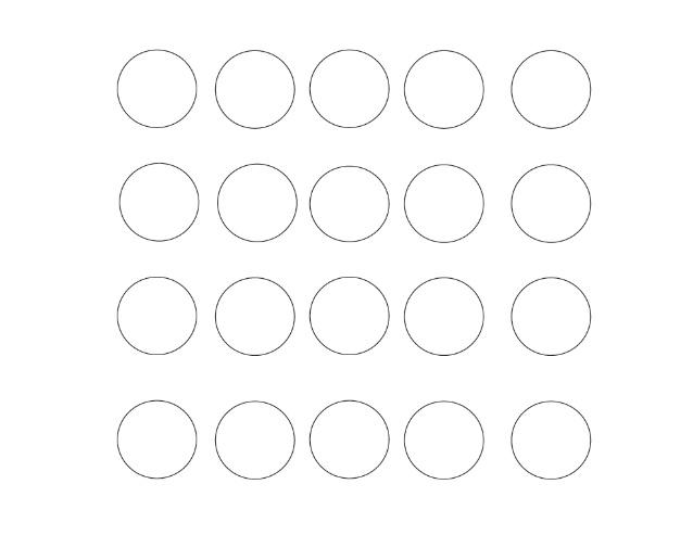 The 20 Circle Challenge