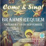 Come & Sing Brahms' German Requiem