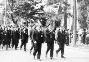 1937 drumhead parade