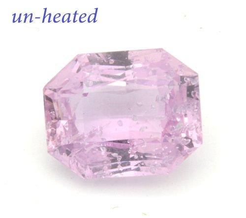 pinkish peach sapphire