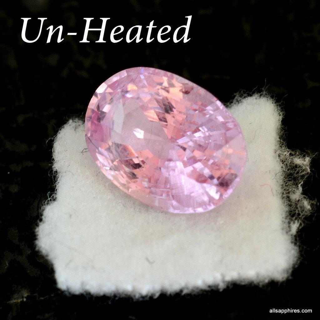 Unheated Padparadscha sapphire