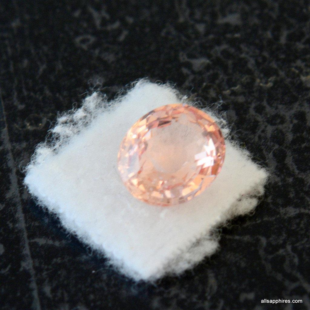 Peach champagne Sapphire