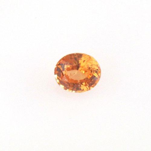 Oval Mandarin Spessartite Garnet