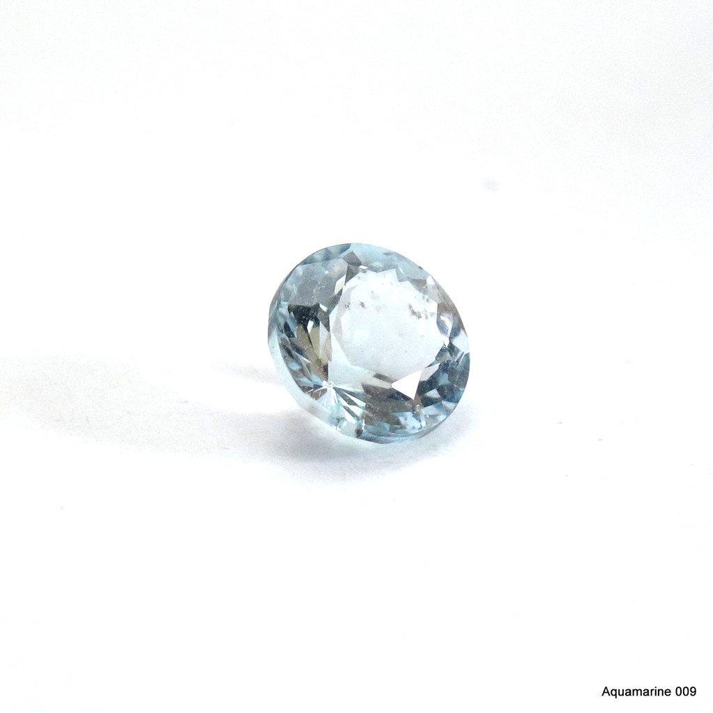 oval Aquamarine