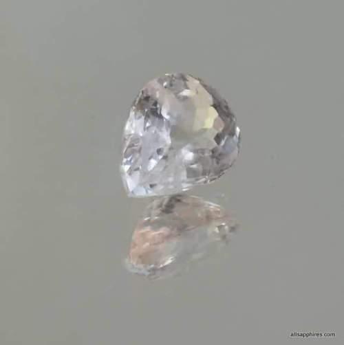 Pear sapphire