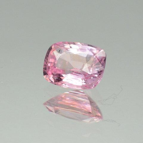 cushion pink sapphire